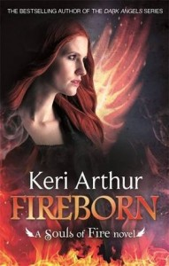 Keri Arthur, Fireborn, Souls of Fire, urban fantasy, paranormal romance