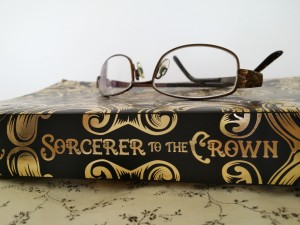 Earl Grey Editing, Sorcerer to the Crown, Zen Cho, book, glasses