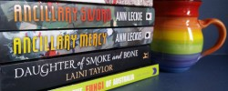 Earl Grey Editing, Mt TBR, tea, Rivers of London, Ben Aaronovitch, Ancillary Sword, Ann Leckie, Ancillary Mercy, Daughter of Smoke and Bone, Laini Taylor, A Field Guide to the Fungi of Australia, SFF, fantasy, sci-fi
