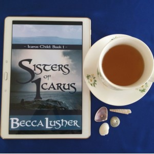 Sisters of Icarus, Becca Lusher, Icarus Child, Tales of the Aekhartain, historical fantasy, historical romance, fantasy, romance, Earl Grey Editing, tea
