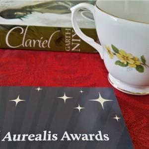 Aurealis Awards, Clariel, Garth Nix, tea and books