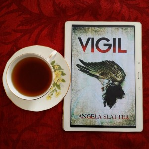 Vigil, Angela Slatter, Verity Fassbinder, Brisbane, books and tea