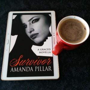 Survivor, Amanda Pillar, Graced, novella, urban fantasy, vampires, hot chocolate, Earl Grey Editing