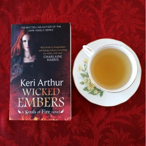 Wicked Embers, Keri Arthur, Souls of Fire, urban fantasy, book review, Melbourne, Earl Grey Editing, tea and books
