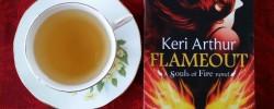Flameout, Keri Arthur, urban fantasy, phoenix, books and tea, Earl Grey Editing