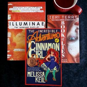 Earl Grey Editing, Bout of Books, Illuminae, Amie Kaufman, Jay Kristoff, The Incredible Adventures of CInnamon Girl, Melissa Keil, Book of Lies, Terri Terry, books and tea