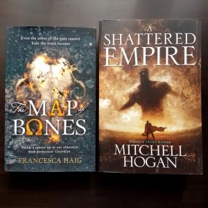 Earl Grey Editing, Map of Bones, Francesca Haig, The Fire Sermon, A Shattered Empire, Mitchell Hogan, Sorcery Ascendant Sequence