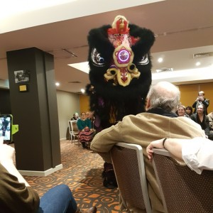 Chinese Black Lion, Lion dance, Conflux 12, Red Fire Monkey