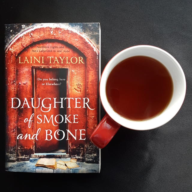 Daughter of Smoke and Bone, Laini Taylor, Earl Grey Editing, books and tea