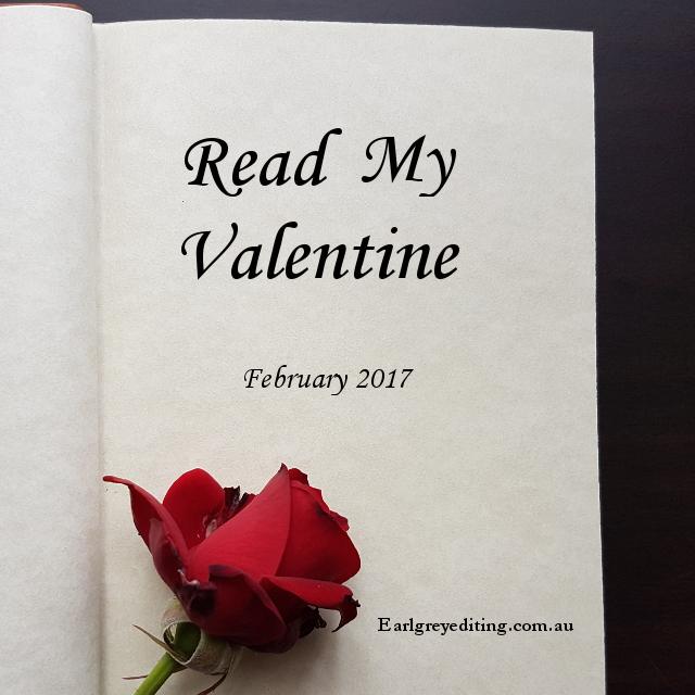 Read My Valentine, Earl Grey Editing, romance reading challenge