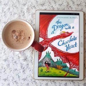 The Dragon with the Chocolate Heart, Stephanie Burgis, Earl Grey Editing