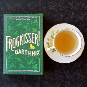 Frogkisser!, Garth Nix, middle grade, fairytale, fantasy, books and tea, tea and books, Earl Grey Editing