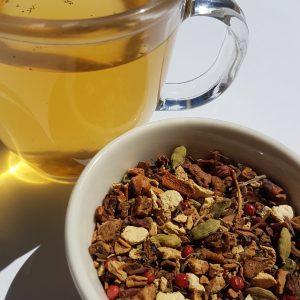 Neo, Ginger Jiva, loose-leaf tea, Earl Grey Editing