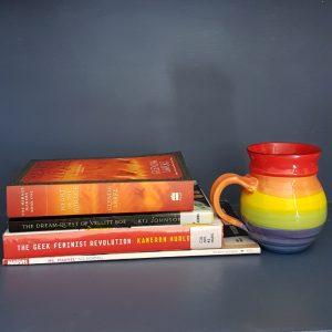 Dewey's readathon, read-a-thon, Heart of the Mirage, Glenda Larke, The Dream-quest of Vellitt Boe, Kij Johnson, The Geek Feminist Revolution, Kameron Hurley, Ms Marvel, G. Willow Wilson, Earl Grey Editing, tea and books, books and tea