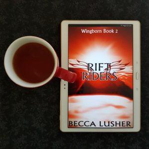 Rift Riders, Becca Lusher, Wingborn, Earl Grey Editing, tea and books, books and tea.