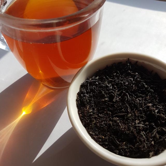 Vic Market Mornings tea, McIver's, Loose-leaf Links, loose-leaf tea, Earl Grey Editing