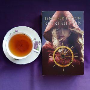 Retribution, Jennifer Fallon, Earl Grey Editing, tea and books, books and tea
