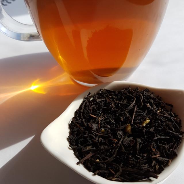 Amaretto, Tea Centre, Loose-leaf Links, loose-leaf tea, Earl Grey Editing