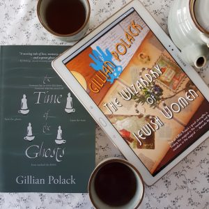 Gillian Polack, The Time of Ghosts, The Wizardry of Jewish Women, Satalyte Publishing, Book View Cafe, Earl Grey Editing, tea and books, books and tea