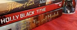 Fairytale retellings, Heart's Blood, Juliet Marillier, Tithe, Holly Black, Fire and Hemlock, Diana Wynne Jones, Earl Grey Editing, books and tea, tea and books