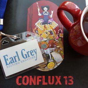 Earl Grey Editing, Conflux 13, Shauna O'Meara