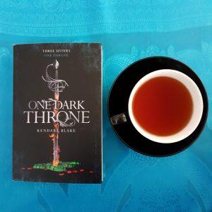 One Dark Throne, Kendare Blake, Three Dark Crowns, Earl Grey Editing, books and tea, tea and books