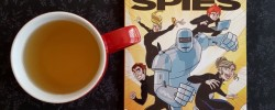 Phantom Spies, Dawn Meredith, middle-grade superhero, Earl Grey Editing, books and tea, tea and books