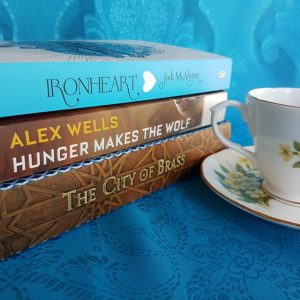 Earl Grey Editing, Bout of Books, Ironheart, Jodi McAlister, Hunger Makes the Wolf, Alex Wells, The City of Brass, S.A. Chakraborty, books and tea, tea and books