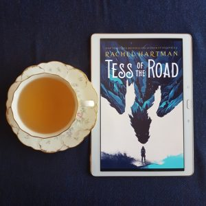 Tess of the Road, Rachel Hartman, Earl Grey Editing, tea and books, books and tea