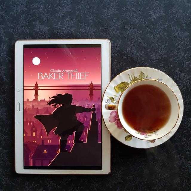 Baker Thief, Claudie Arseneault, books and tea, tea and books, Earl Grey Editing
