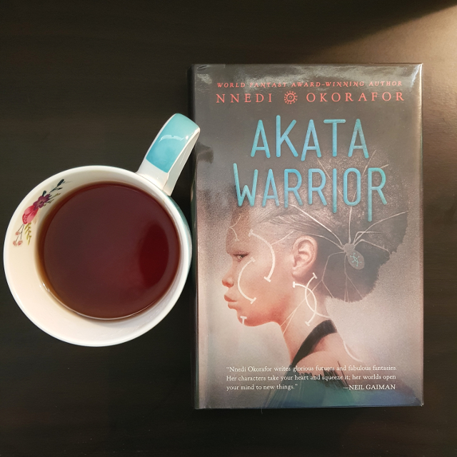 Akata Warrior, Nnedi Okorafor, Akata Witch, Earl Grey Editing, tea and books, books and tea