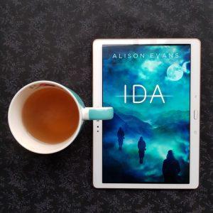 Ida, Alison Evans, Earl Grey Editing, books and tea, tea and books