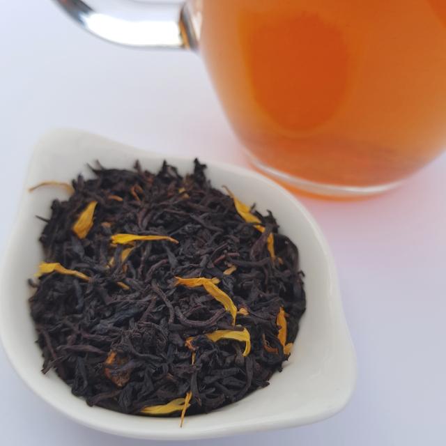 Summer Passion Fruit, loose-leaf tea, Loose-leaf Links, Earl Grey Editing, The 1872 Clipper Tea Company