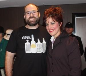 David McDonald and Maureen Flynn. Photo courtesy of Cat Sparks.