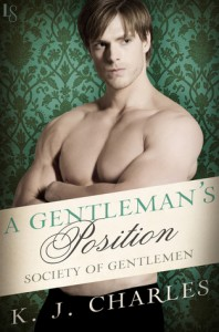 A Gentleman's Position, Society of Gentlemen, KJ Bishop, Loveswept, historical romance, m/m romance, romance, lgbtqia