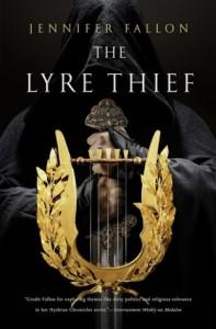 The Lyre Thief, Jennifer Fallon, Harper Voyager, War of the Gods, Hythrun Chronicles, Australian Women Writer, Australian fantasy, epic fantasy