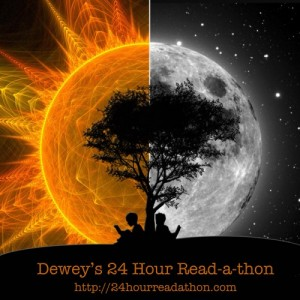 Dewey's 24 Hour Read-a-thon badge
