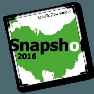 Snapshot 2016, Aussie SF Snapshot, Australian speculative fiction, SpecFic Downunder