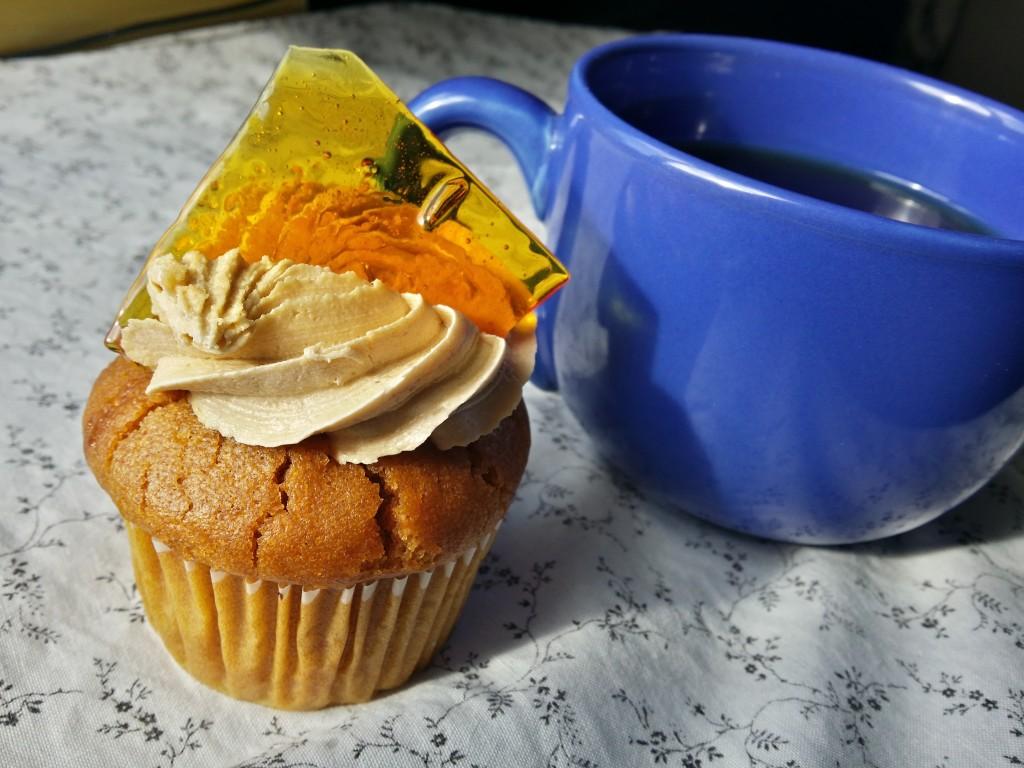 Cupcake, caramel, Jazz Apple
