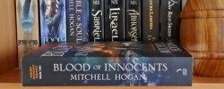 Blood of Innocents, Mitchell Hogan, Harper Voyager, Sorcery Ascendant Sequence, epic fantasy, fantasy, Earl Grey Editing, shelfie