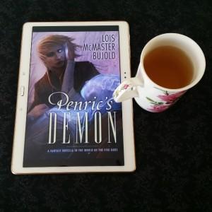 Earl Grey Editing, Penric's Demon, Lois McMaster Bujold, fantasy, tea and books