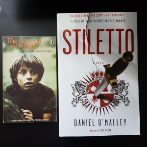 The Nargun and the Stars, Patricia Wrightson, Stiletto, Daniel O'Malley, Conflux 12, Red Fire Monkey