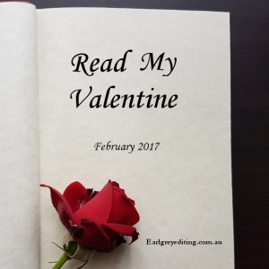 Read My Valentine, Earl Grey Editing, romance reading challenge