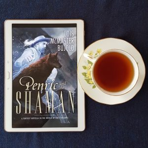 Penric and the Shaman, Lois McMaster Bujold, Subterranean Press, fantasy, World of the Five Gods, tea and books, books and tea, Earl Grey Editing
