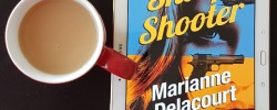 Sharp Shooter, Marianne Delacourt, Tara Sharp, Australian crime, Earl Grey Editing, books and tea, tea and books, Twelfth Planet Press