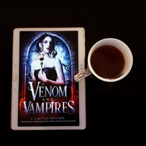 Ashes, Amanda Pillar, Graced, Graced series, Venom and Vampires, paranormal romance collection, Earl Grey Editing, tea and books, books and tea