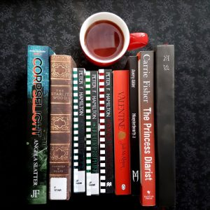 Earl Grey Editing, Mt TBR, Corpselight, Angela Slatter, Verity Fassbinder, The Starlit Wood, Navah Woolf, Peter F. Hamilton, The Secret Throne, The Hunting of Princes, A Voyage Through Air, Jodi McAlister, Valentine, Avery Alder, Monsterhearts, Carrie Fisher, The Princess Diarist, John Harper, Blades in the Dark