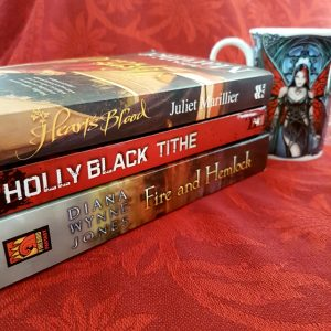 Fairytale retellings, Heart's Blood, Juliet Marillier, Tithe, Holly Black, Fire and Hemlock, Diana Wynne Jones, Earl Grey Editing, books and tea, tea and books