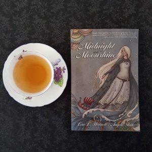 Midnight and Moonshine, Lisa L. Hannett, Angela Slatter, Ticonderoga Publications, Earl Grey Editing, tea and books, books and tea