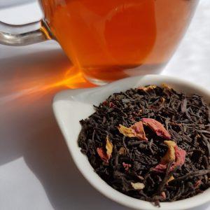 Earl Grey Editing, Loose-leaf Links, loose-leaf tea, China Rose, Adore Tea